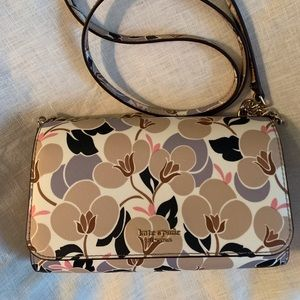 Kate Spade Small Flap Crossbody Floral